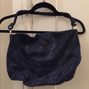 Banana Republic (sparkly) hobo bag